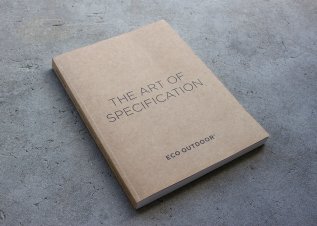 ECO Outdoor | The Art of Specification Bookdesign
